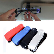 New Car Sun Visor Glasses Sunglasses Spectacles Ticket Card Clip Storage Holder