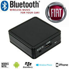 Fiat Bluetooth iPhone Samsung Sony LG HTC Car Music Interface Adaptor + Charging