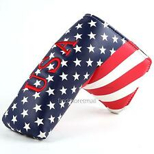 USA Stars Stripes Golf Putter Headcover for Taylormade Scotty Cameron Ping Blade