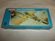 Flugzeug Modell Bausatz 1:72 NOVO Supermarine Spitfire XIV 2. Weltkrieg England