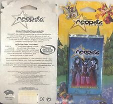 Neopets Original Base Set 8 Card Booster Pack Virtual Prize Code Inside! (NEW)
