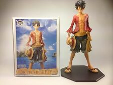 Monkey D Luffy One Piece Anime Banpresto Master Stars Piece Figure Statue 25cm !