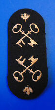 Canadian Armed Forces Navy Storesman Technician sleeve uncut trade badges