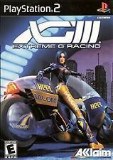 PS2 XGRA: Extreme G Racing Association / Combat multiplayer bike action/Complete