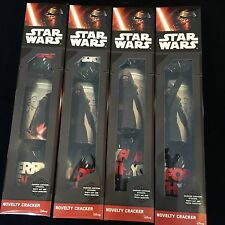 Star Wars Set Of 4 Christmas Crackers New Boxed Job Lot Toy Bundle