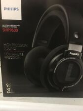 Philips SHP9500HiFi Precision Stereo Over-ear Headphones (Black)