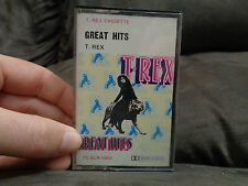 T REX_Great Hits_used cassette_ships from AUS!_E1