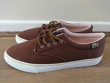 Lacoste Live Barbados MR shoes sneakers brown uk 8 eu 42 us 9 NEW + TAGS