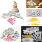 8/33/46/47pcs Sugarcraft Cake Decorating Fondant Icing Plunger Tool Mold Mould S