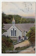 MORTLACH PARISH CHURCH, DUFFTOWN: Banffshire postcard (C11712)