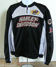 Harley-Davidson Boulevard Mesh Jacket, Men's XL, New w/Tags, Body Armor Pockets