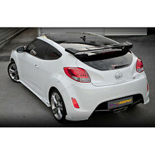 Rear Roof Glass Wing Trunk Spoiler UNPAINTED For 11 12 Hyundai Veloster