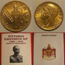 10 CENTESIMI 1939 IMPERO FIOR DI CONIO OTTIMO BRONZO ITALY TOP