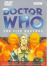 DOCTOR DR WHO FIVE 5 DOCTORS Special Edition DVD BBC New Original UK Release R2