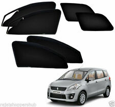 Zipper Magnetic Sun Shades Car Curtain For - Maruti Suzuki Old Ertiga ( 6 Pcs)