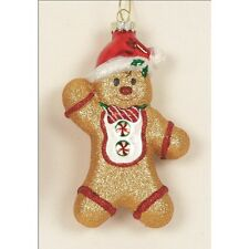 Set of 2 Gingerbread Man Christmas  Tree Decoration     22525