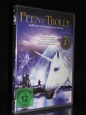 DVD FEEN & TROLLE - 4 FILME - IMPERIUM DER ELFEN + JACK UND DIE BOHNENSTANGE NEU