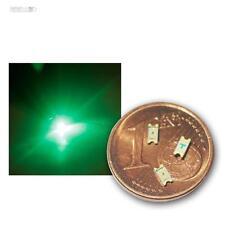 200 SMD LEDs 1206 vert, vert mini LED SMDs SMT verde vert verte groene grande