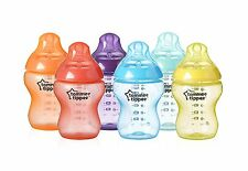 Baby Milk Bottle Tommee Tippee Closer to Nature Fiesta Bottle 9 Ounce 6 Count