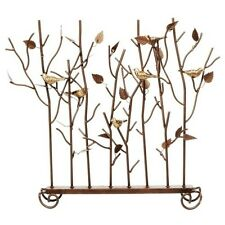Achla Birds Summer Screen Wrought Iron- SSB-01 Fire Screen NEW