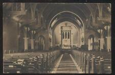 Postcard ROCHESTER New York/NY  St Paul's Church Interior view 1907