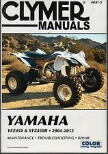 CLYMER YAMAHA YFZ450 YFZ 450 SERVICE REPAIR MANUAL FREE SHIP