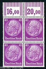 GERMANY DEUTSCHES REICH  HINDENBERG BLOCK SCOTT#410 MICHEL#419  MINT NH