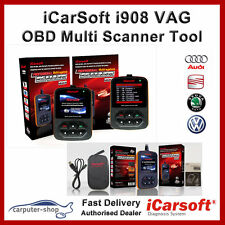 iCarsoft i908 Multi systems scanner for Audi / VW / Seat / Skoda OBD Diagnostics