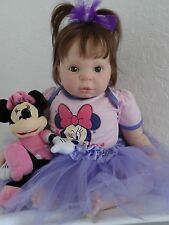 "Reborn 22"" Baby Girl Doll ""Dawn"" from D.Rubert's ""Willow Flower"" sculpt -"