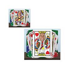 Royal Flush Photo Prop - 94 x 64cm - Casino Card Suit Party Cutouts & Standins