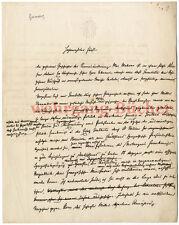 Autograph: Guido Graf Henckel von Donnersmarck, eigenhändiger Brief von 1877