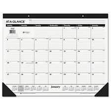 AT-A-GLANCE Ruled Desk Pad 22 x 17 2017 SK2400