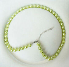 wholesale 10 Colors Genuine 8mm Sea South Shell Pearl Necklace 18 Inches AAA