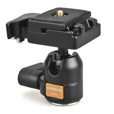Metal Mini Ballhead Quick Release Plate Camera Tripod Ball Head 550D MBL-01