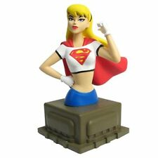 "Superman the Animated Series ~ SUPERGIRL ~ 6"" Mini-Bust ~ Diamond Select Toys"