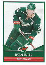 16/17 PANINI NHL STICKER #347 RYAN SUTER WILD *24966