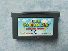SUPER MARIO WORLD (ADVANCE 2) - NINTENDO GAME BOY GBA e DS NDS - PAL EUR - LOOSE