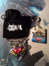 Official Nintendo WiiU Legend Of Zelda Windwalker Majoras Mask Keyring Necklace