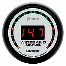 "AUTOMETER Phantom 2 ""Street"" Wideband O2 Air Fuel Ratio Gauge 2 1/16"" (52mm)"