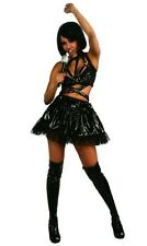 Womens medium (6-10) sexy Rihanna black Concert Outfit Costume Rihanna Costumes