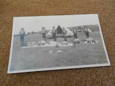 Vintage 1900s RPPC BSA Boy Scout England UK Troop Staffs Drums Postcard Clevedon