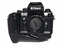 Nikon F4s - 35mm SLR Film Camera w/ Nikon MB-21 Battery Grip