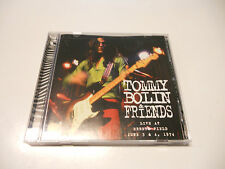 """Tommy Bolin & Friends """"Live at ebbet field 1974"""" TB Archives cd printed in USA"""