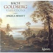 Bach: Goldberg Variations (Angela Hewitt - Piano) CD NEW