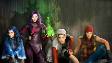 Descendants Edible Party Cake Image Topper Frosting Icing Sheet