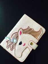 Unicorn Shaped Fashion Passport documents folder bag Cute wallet luggage tag