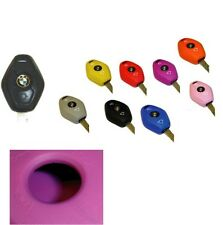 1998 - 05 BMW Key Fob Cover Jacket Silicon Protection Black Pink Blue Red Purple