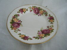 C4 Porcelain Elizabethan Cottage Rose Side Plate 16cm 2F6A