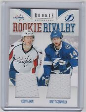11-12 2011-12 ROOKIE ANTHOLOGY EAKIN CONNOLLY ROOKIE RIVALRY DUAL JERSEY