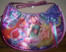 WINX Club Believix GIRLS Satin TOTE Purse Hobo Shoulder Bag Fairy Butterfly doll